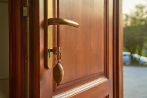 holiday security - front door